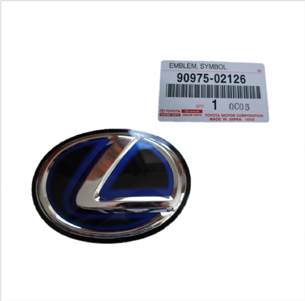 Genuine Lexus Front Grill Badge Emblem 90975-02126, 9097502126